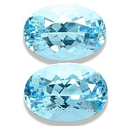 Aquamarine Matched Pair - 5.86 carats