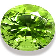 5.28 ct Peridot from Burma