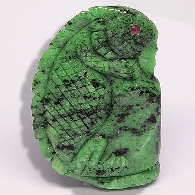 Carved Ruby Zoisite - 505.00 carats