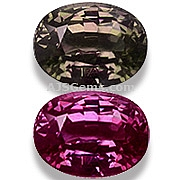 Color Change Garnet - 3.11 carats