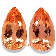 Imperial Topaz Matched Pair- 4.72 carats