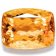 Imperial topaz - 3.82 carats