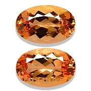 Matched Pair Imperial Topaz -2.98 carats