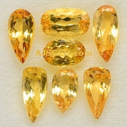Imperial topaz - 10.85 carats