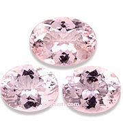 13.80 ct Morganite Suite, Brazil