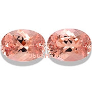 Morganite Matched Pair - 13.01 carats