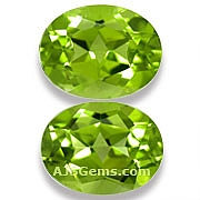 Matched Pair Peridot - 4 .31 carats