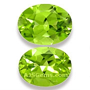 Matched Pair Peridot - 4 .26 carats