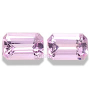 Pink Topaz Matched Pair - 1.09 carats
