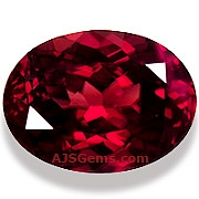 17.87 ct Red Zircon from Tanzania