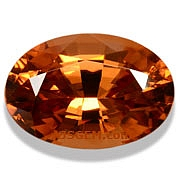 Honey/Red Zircon - 3.62 carats