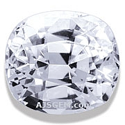 White Sapphire - 5.16 carats
