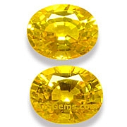 Yellow Sapphire - 4.77 carats