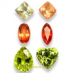 Sunstone and Mali Garnet Set - 7.35 carats