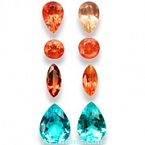 Sunstone and Apatite Set - 7.18 carats