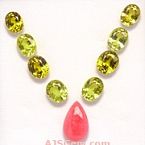 Mali Garnet and Rhodochosite Set - 15.85 carats