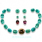 Apatite and Tourmaline Set - 31.55 carats