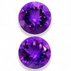Amethyst Matched Pair - 19.80 carats