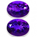 Amethyst Matched Pair - 18.04 carats