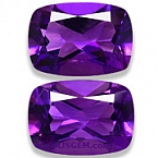 Amethyst Matched Pair - 13.02 carats