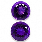 Amethyst Matched Pair - 12.03 carats