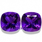 Amethyst Matched Pair - 12.72 carats