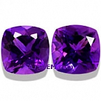 Amethyst Matched Pair - 13.58 carats