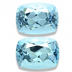 Aquamarine Matched Pair - 3.63 carats