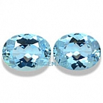 Aquamarine Matched Pair - 3.12 carats