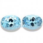 Aquamarine Matched Pair - 3.17 carats
