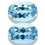 Aquamarine Matched Pair - 4.93 carats