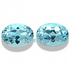 Aquamarine Matched Pair - 1.65 carats