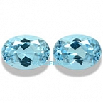 Aquamarine Matched Pair - 1.46 carats