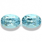 Aquamarine Matched Pair - 1.69 carats