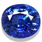 Unheated Blue Sapphire - 1.60 carats