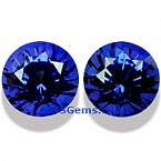 Blue Sapphire Matched Pair - 1.70 carats