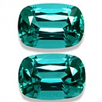 Vibrant Blue Tourmaline Matched Pair - 2.84 carats