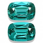 Vibrant Blue Tourmaline Matched Pair - 2.66 carats