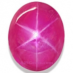 Star Ruby - 7.39 carats