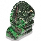 Carved Ruby Zoisite- 535.45 carats