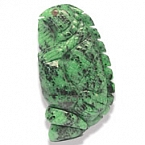 Carved Ruby Zoisite- 368.32 carats