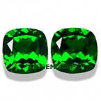 Chrome Diopside Matched Pair - 3.04 carats