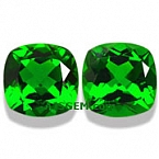 Chrome Diopside Matched Pair - 3.23 carats