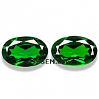 Chrome Diopside Matched Pair - 3.13 carats