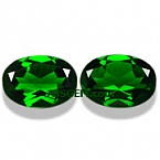 Chrome Diopside Matched Pair - 3.26 carats