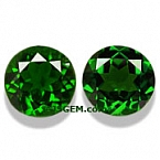 Chrome Diopside Matched Pair - 2.93 carats
