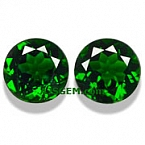 Chrome Diopside Matched Pair - 2.72 carats
