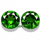 Chrome Diopside Matched Pair - 1.81 carats