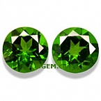 Chrome Diopside Matched Pair - 1.96 carats