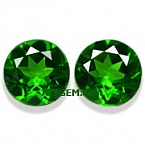 Chrome Diopside Matched Pair - 1.65 carats